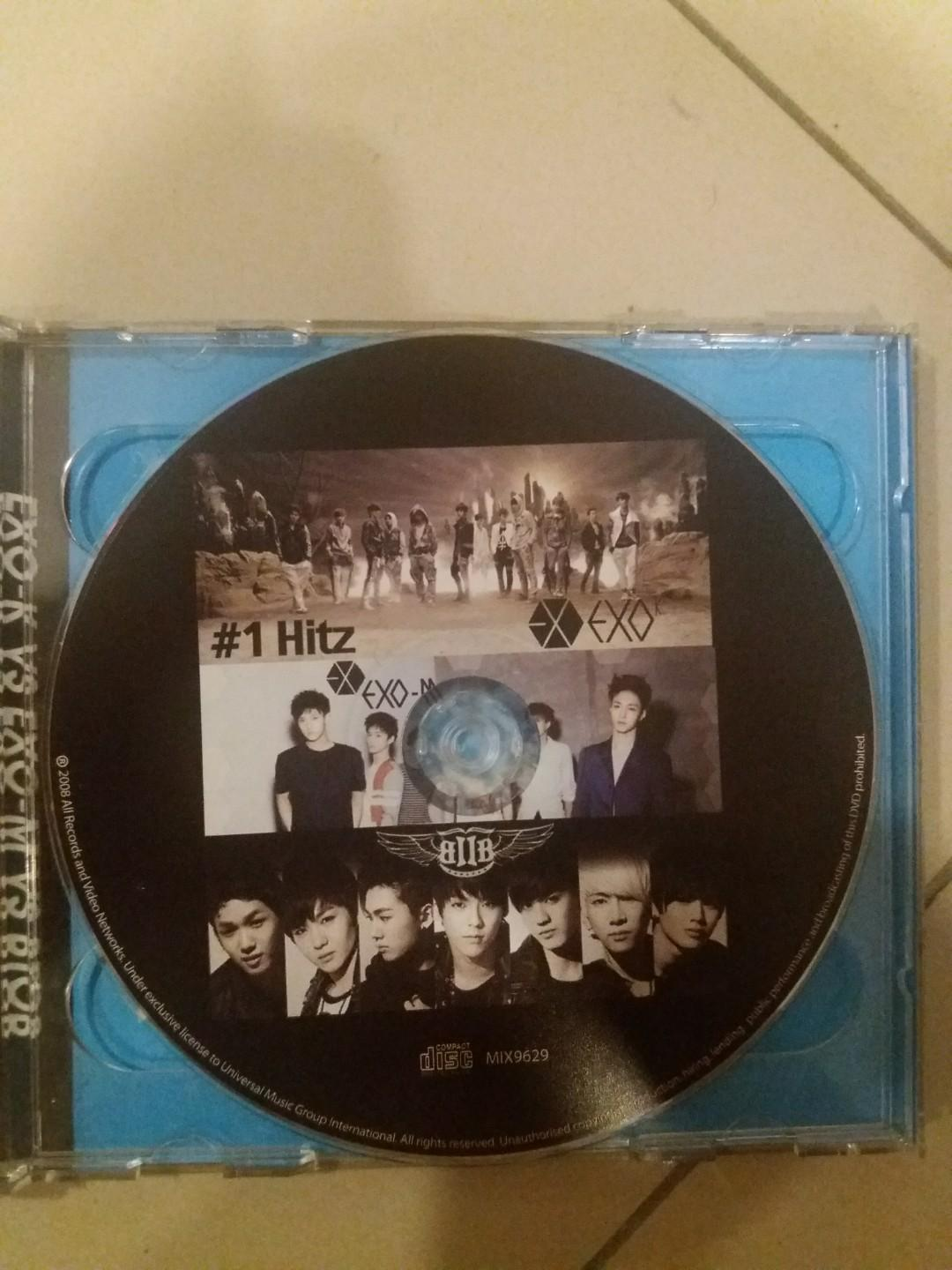#Betul2Free [FREE!! JUST PAY SHIPPING COST] EXO AND BTOB CD