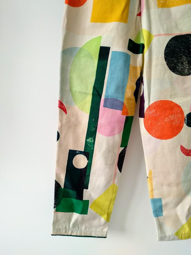 Gorman new world sample cotton tapered pants AU 8-10