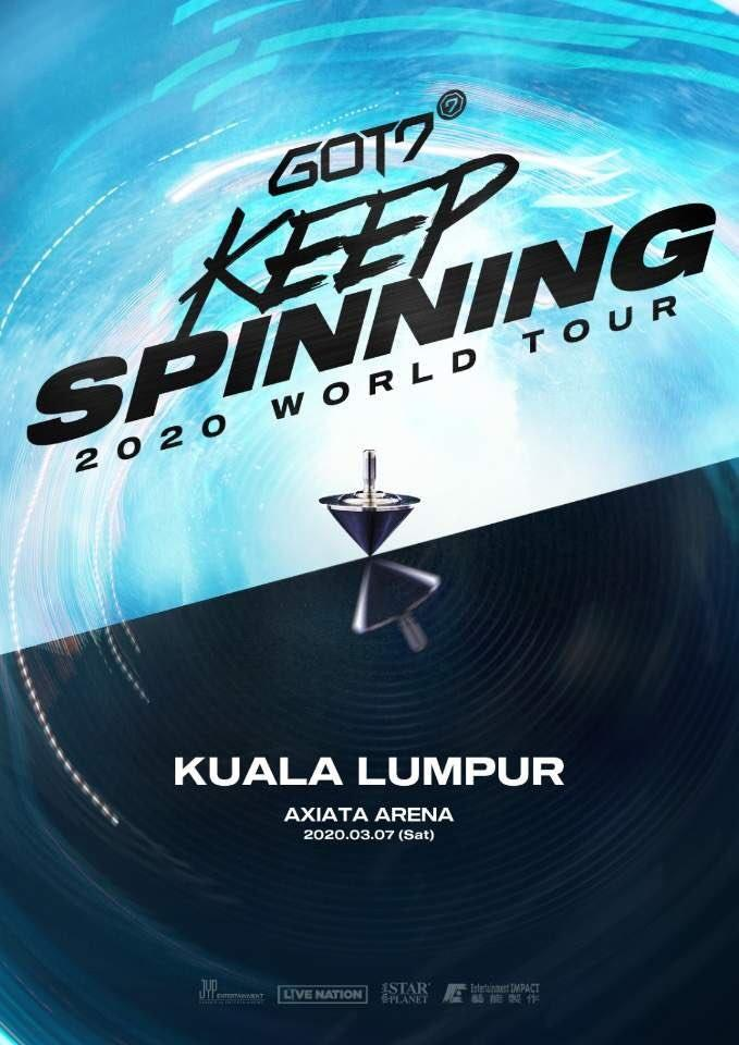 GOT7 KEEP SPINNING TOUR IN MALAYSIA TICKETING SERVICE