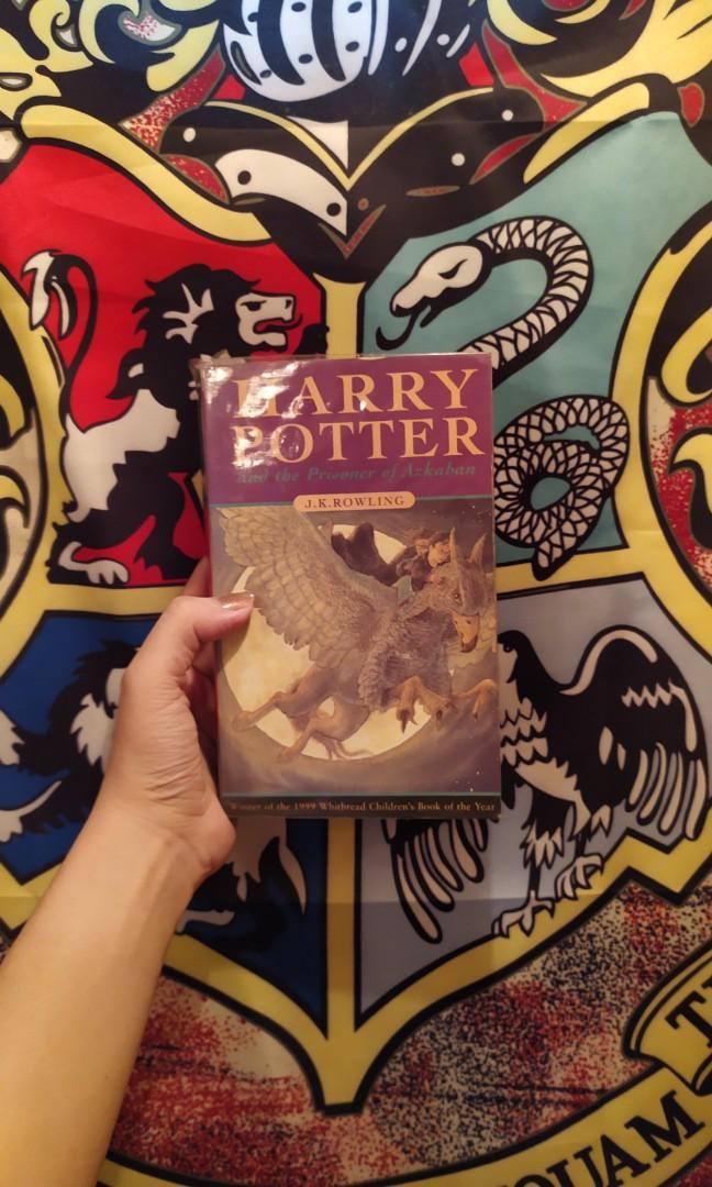 Harry Potter and the Prisoner of Azkaban Bloomsbury UK edition