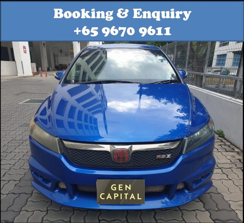 Honda Stream RSZ @ Low rentals and you can drive away at just $500!