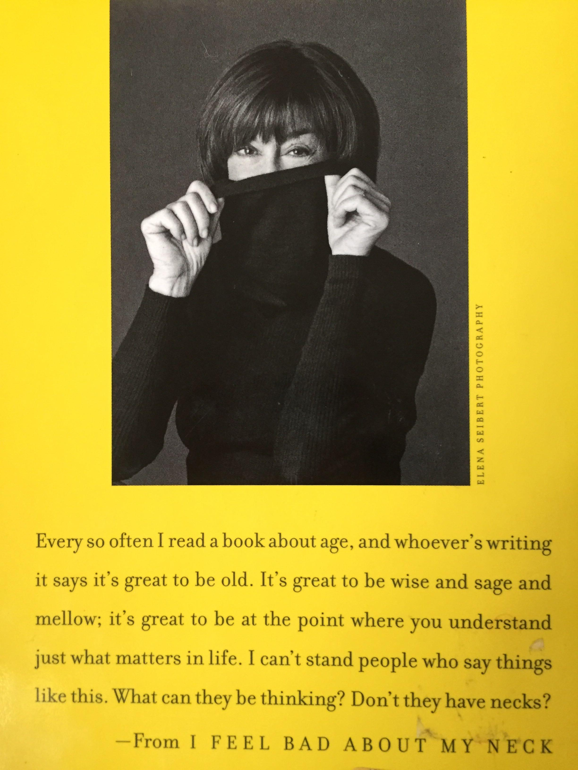 I Feel Bad About My Neck and Other Thoughts on Being a Woman by Nora Ephron