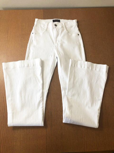 James Jeans Shayebel White Flare High Waist Jeans Size 27 New Without Tags