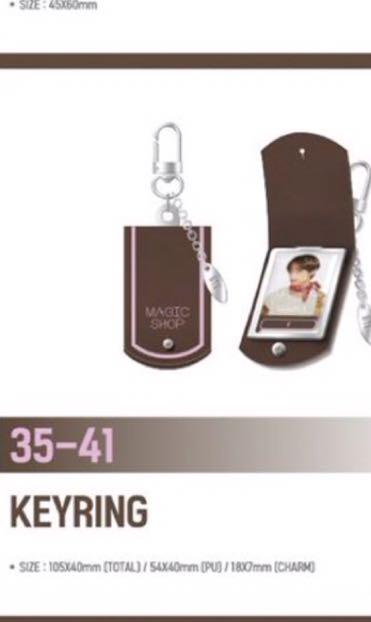 [LF/WTB] BTS JAPAN FANMEETING MAGIC SHOP - TAEHYUNG KEYRING ( OFFICIAL)