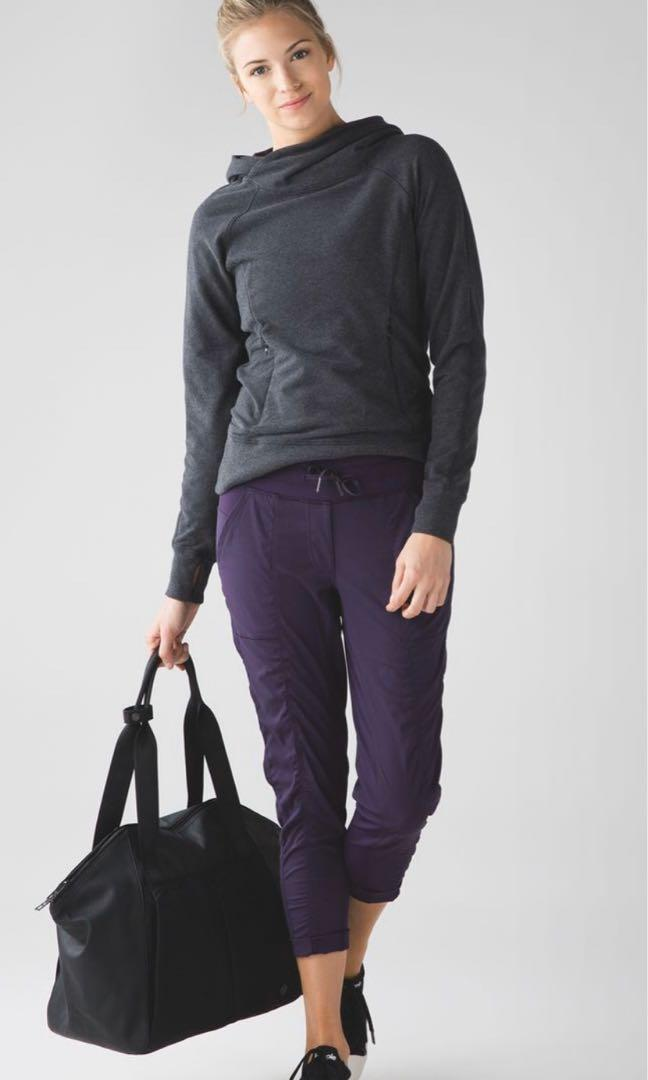 Lululemon street To studio pant II plum purple sz8(M)