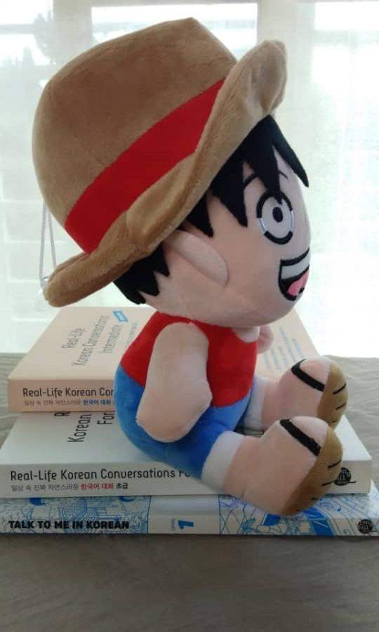 Monkey d. Luffy of One Piece anime inspired soft toys plush(oem)