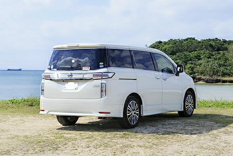 Nissan Elgrand car on long term leasing