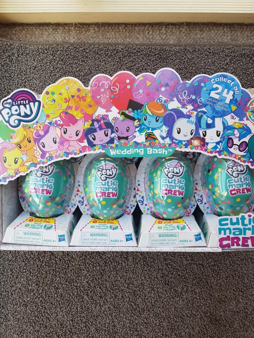 My little pony cutie mark crew ' toys (PRICE IS FOR 2)