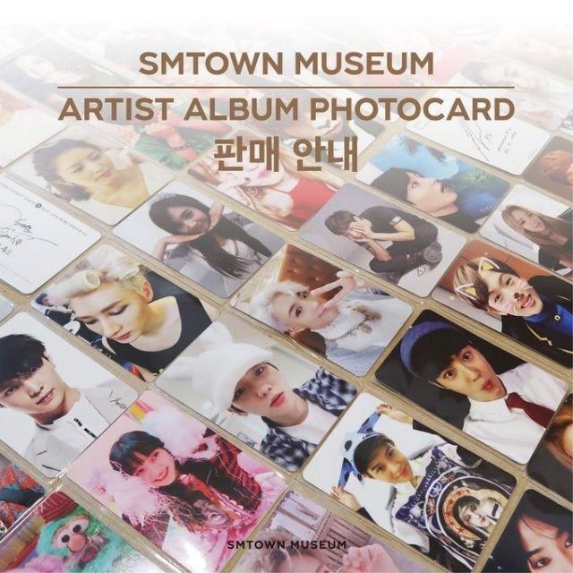 [NO EMS] SMTOWN MUSEUM OFFICIAL ARTIST ALBUM PHOTOCARD