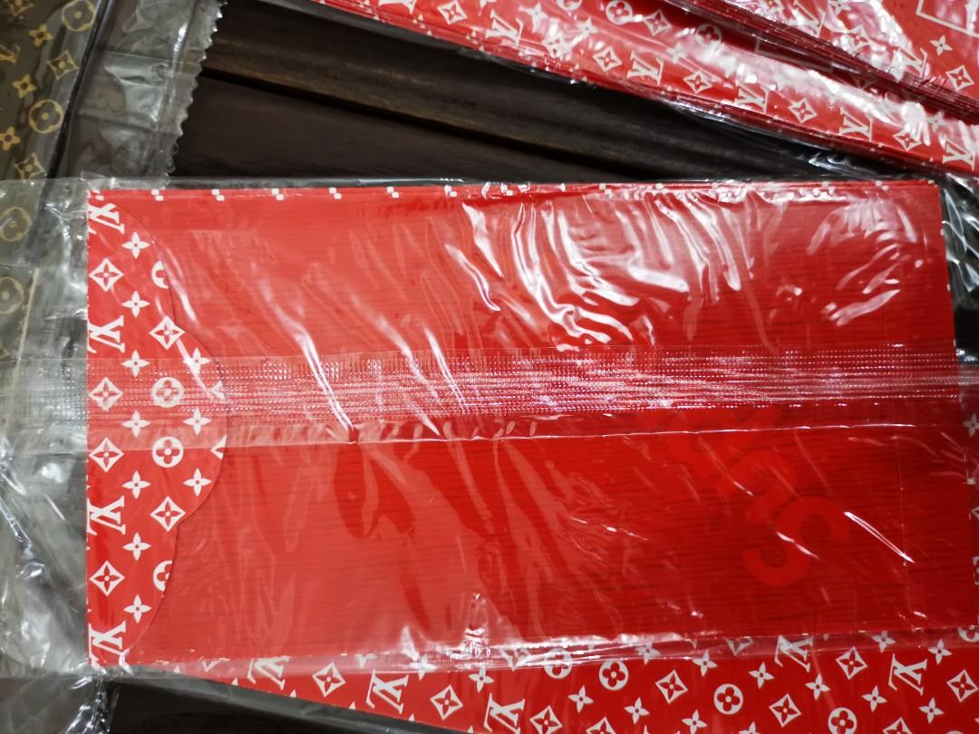 Normal Red Packet AngBao) 1 packet have 5pcs (3 packets for $8) Pls don't ask me any funny question about Authentic It's a normal Red Packet Angbao