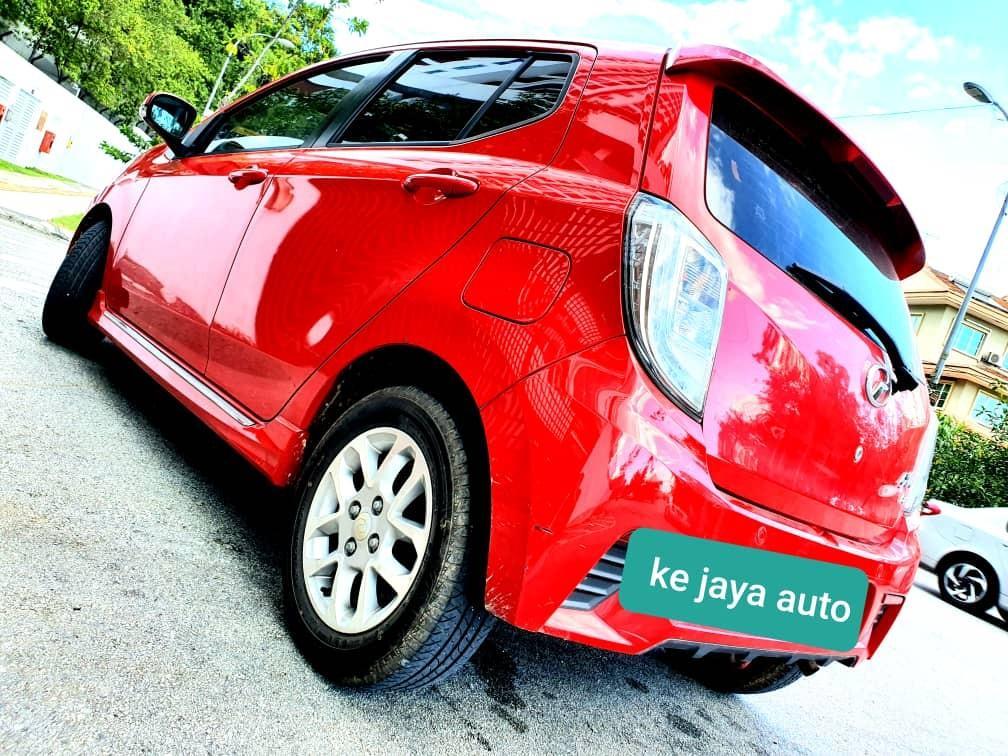 Perodua axia SE 1.0(A) 2014