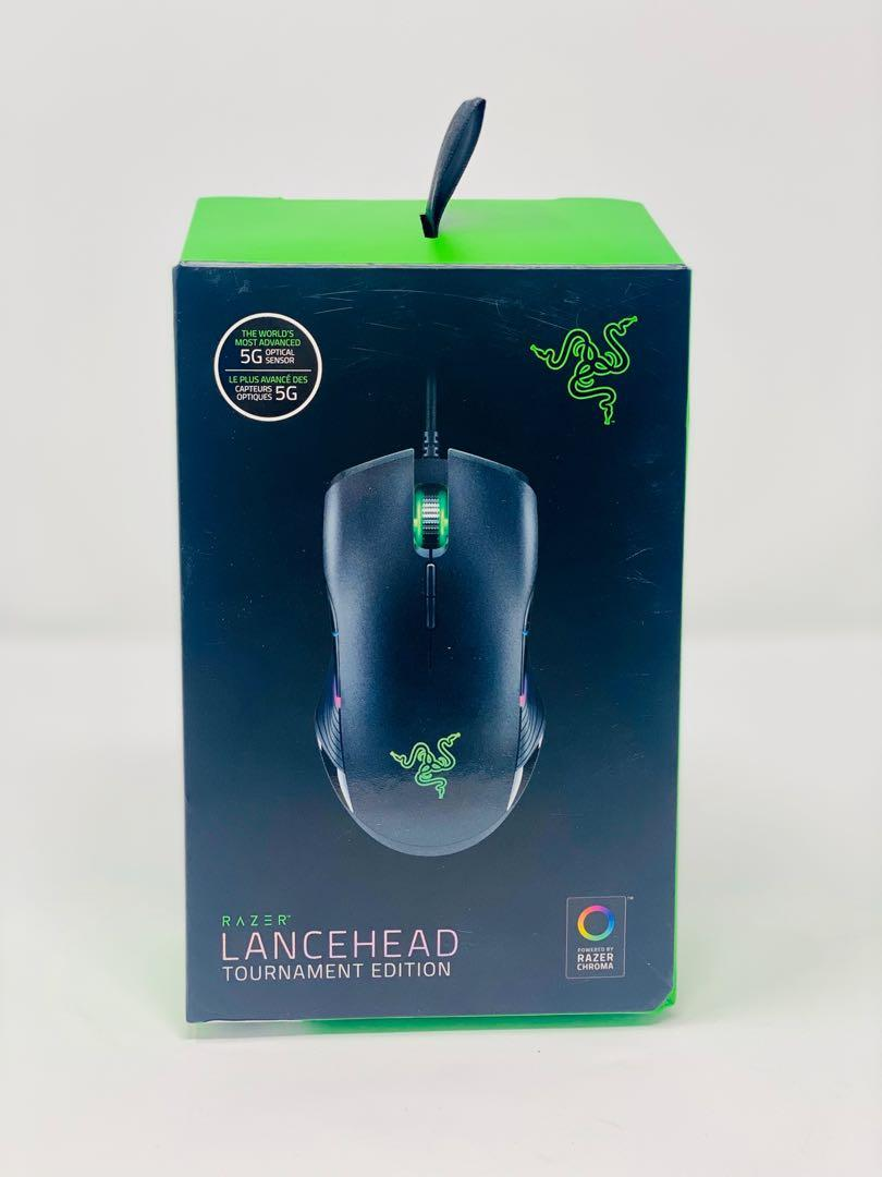 Razer Lancehead TE Ambidextrous Gaming Mouse - 8 Buttons & Mechanical Switches