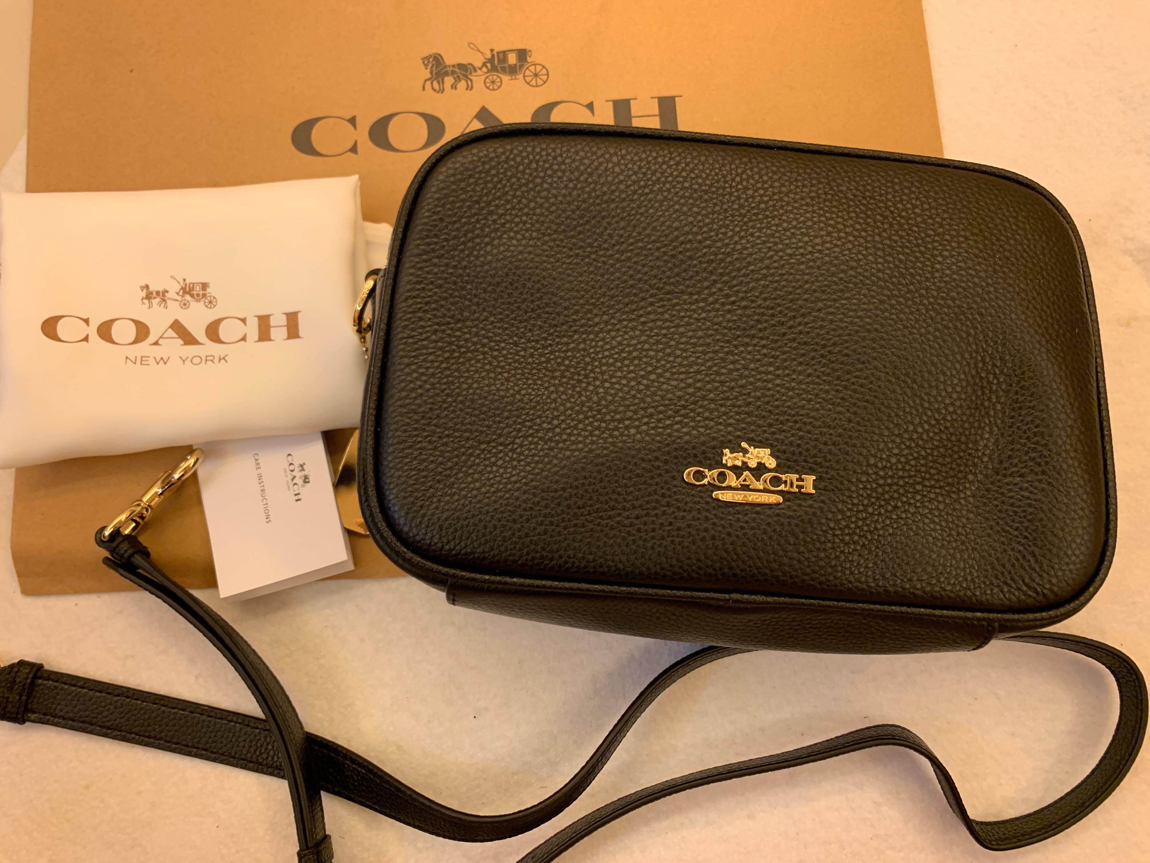 Ready stock authentic coach 39856 women camera sling bag crossbody bag