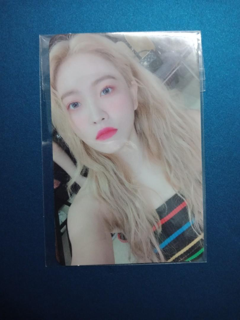 Red velvet yeri the revefestival umpah umpah photocard