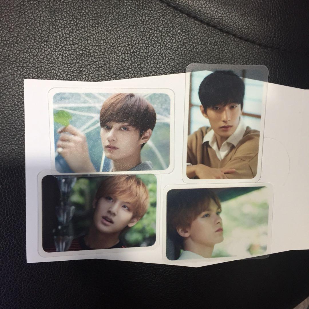 Seventeen dicon magazine photocard jun seungkwan dokyeom mingyu