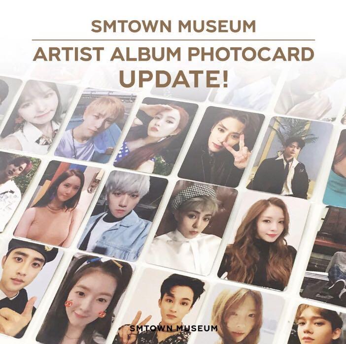 SM MUSEUM PC EXO NCT RED VELVET TVXQ SUPER JUNIOR BOA CBX )