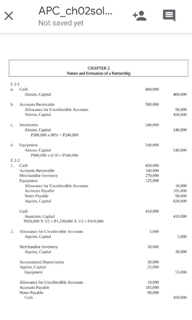 [SOLMAN] Partnership and Corporation (Parcorp Accounting) - Baysa and Lupisan (2014, 2016 or 2018 edition)