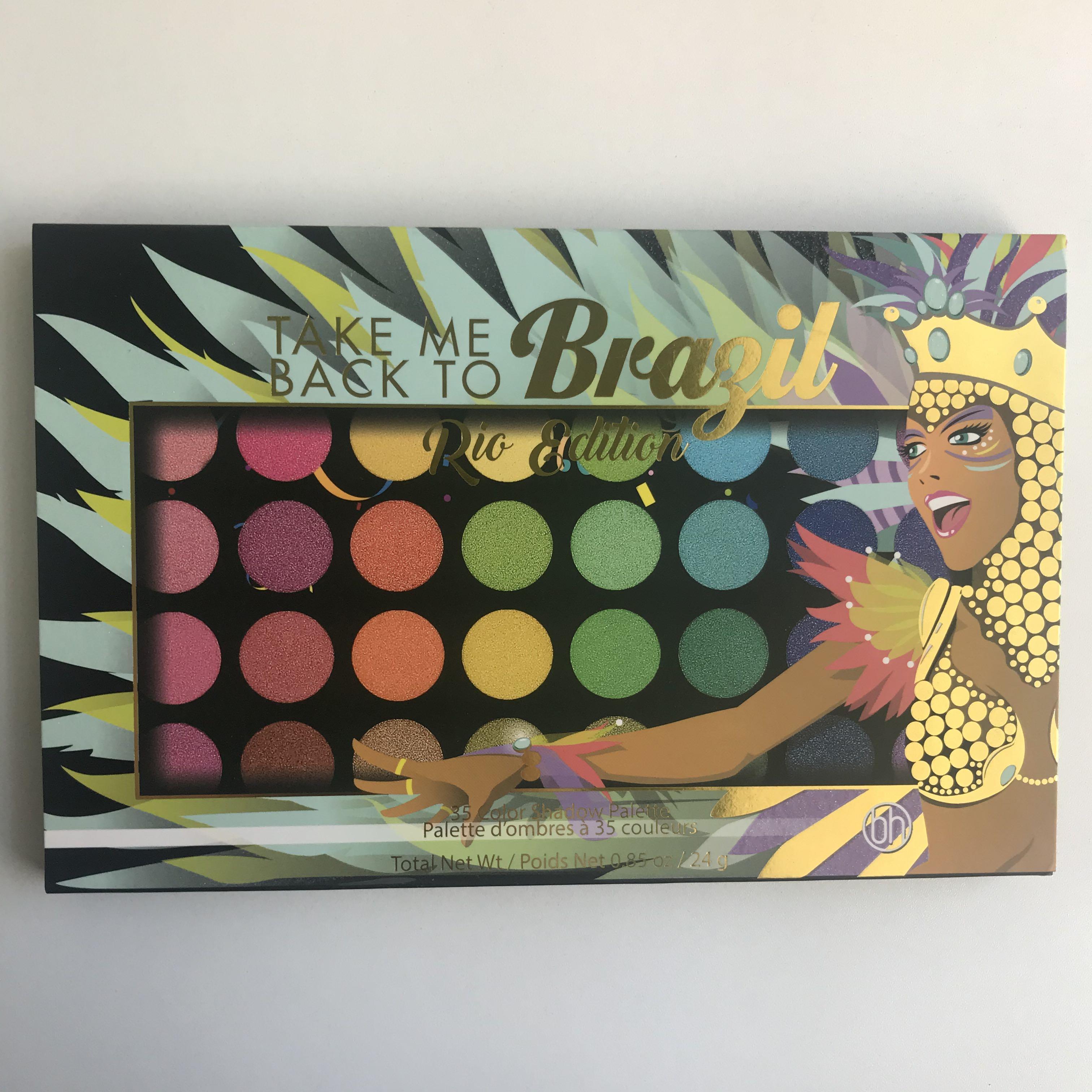 Take Me Back to Brazil (Rio edition) Bh Cosmetics eyeshadow palette