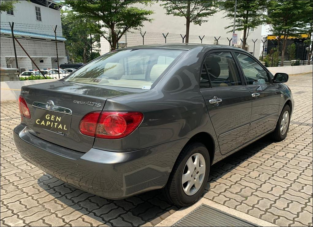 Toyota Altis @ Low rentals and you can drive away at just $500!