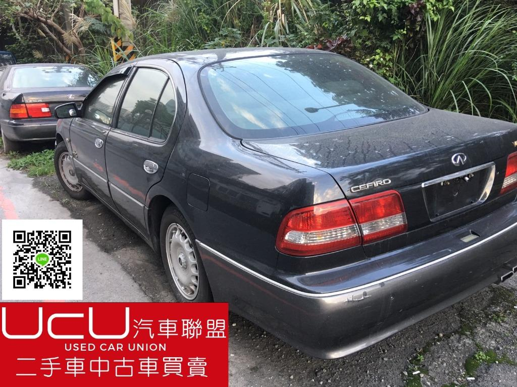 UcU汽車聯盟1998年-NISSAN A32 CEFIRO 3.0-整車零件拆賣