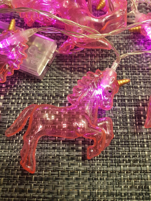 Unicorn lytworx LED pink battery party lights (20)