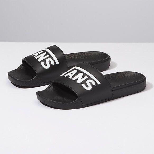 VANS slides, Men's Fashion, Footwear