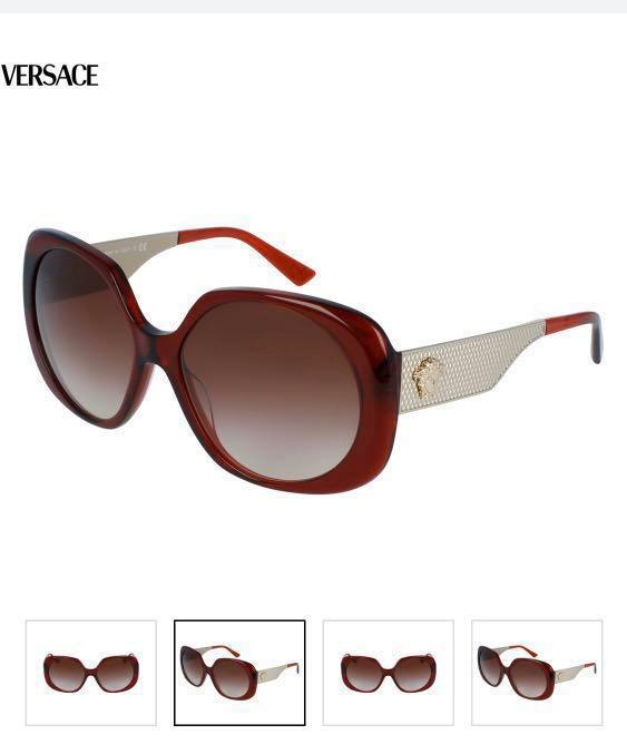 Versace ladies sunglasses 100% authentic $299 FIRE RELIEF