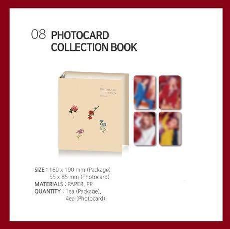 WTB MAMAMOO CONCERT OFFICIAL GOODS PHOTOCARD COLLECTION BOOK