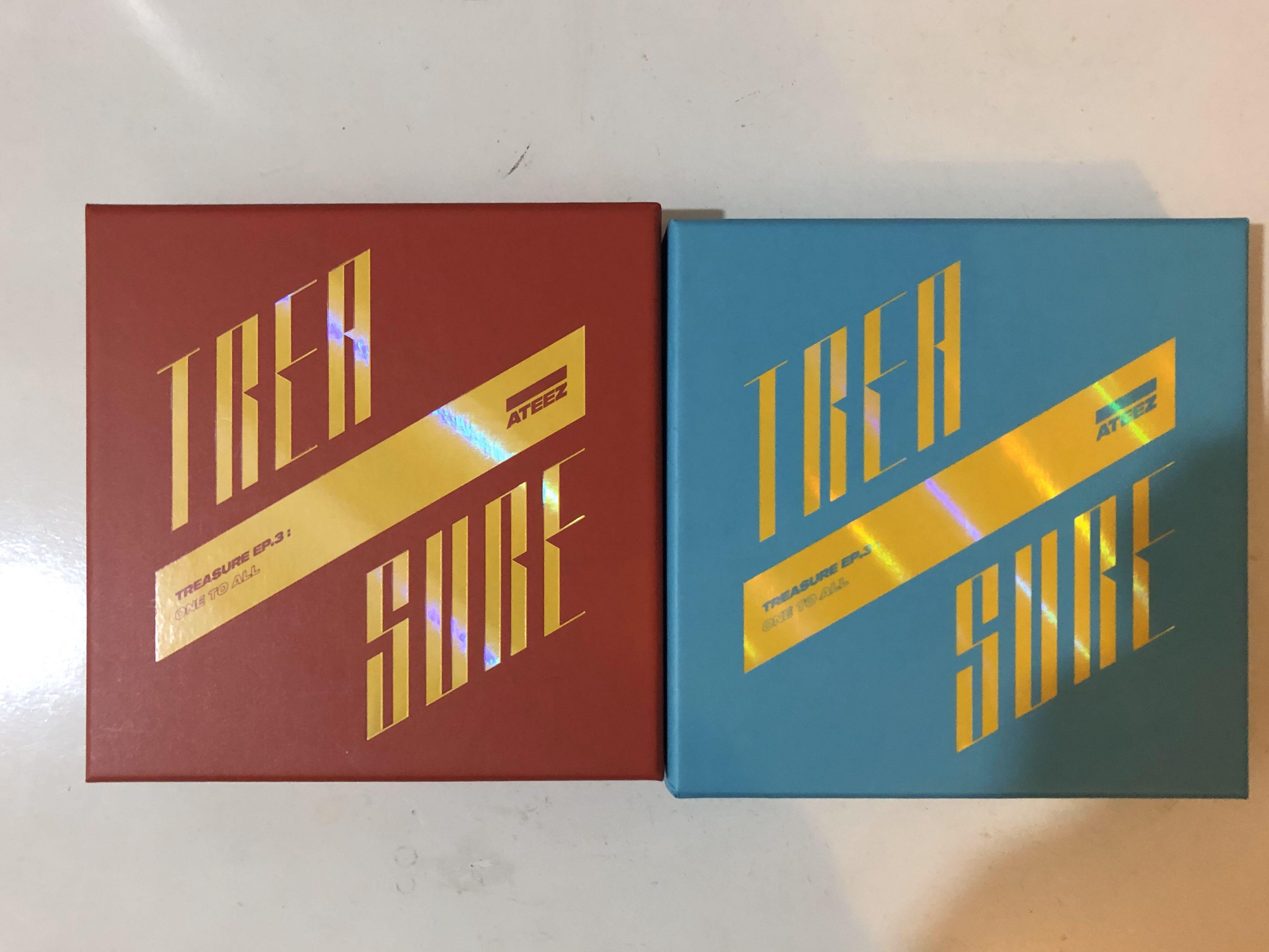 WTS ATEEZ 3rd mini album [Treasure Ep. 3: One to All]
