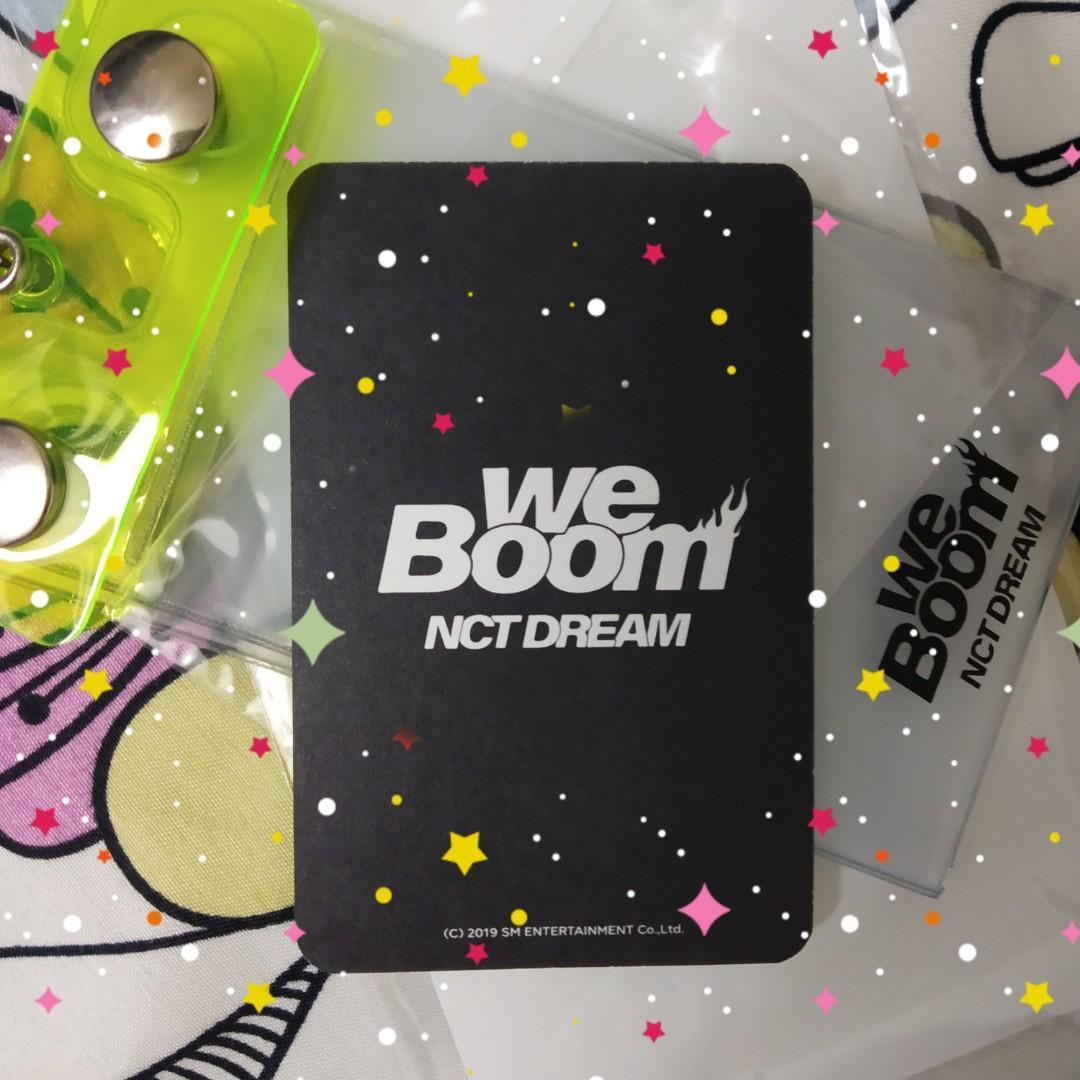 [wts fast!!! / lfb] nct dream renjun we boom keyring pc
