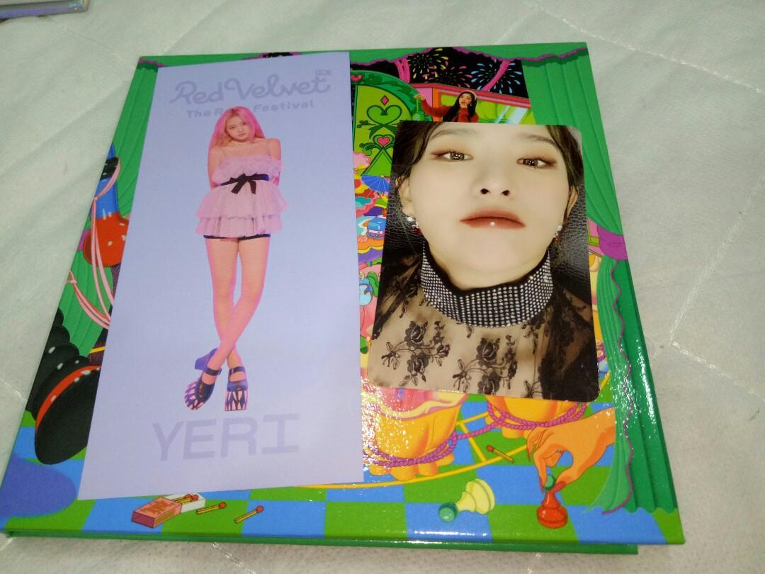 WTS Red Velvet The ReVe Festival Finale Seulgi Photocard