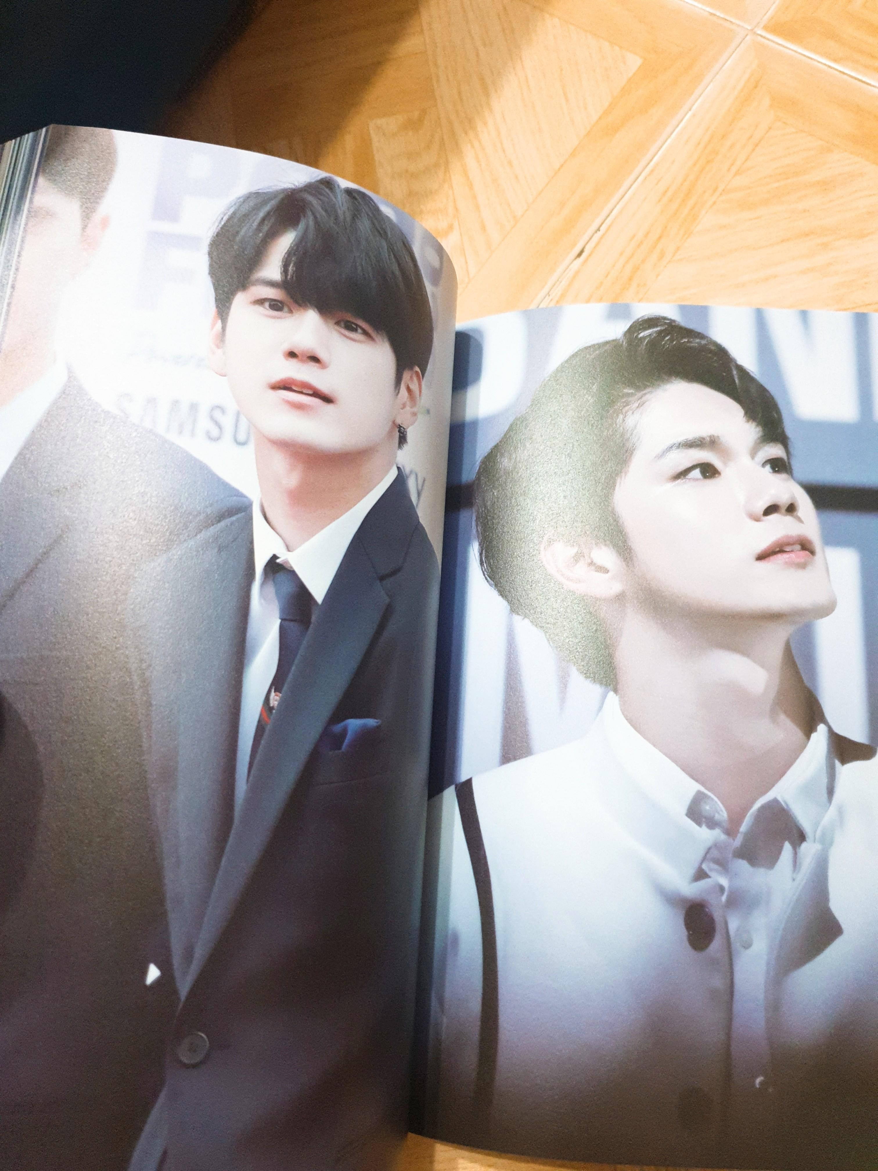 [WTS] WANNA ONE MEMBERS COLLAB WITH ELEVEN FANSITE PHOTOBOOK