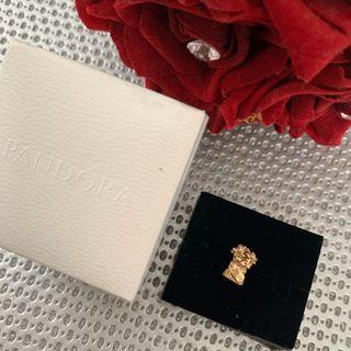 Pandora 14k flower bouquet charm