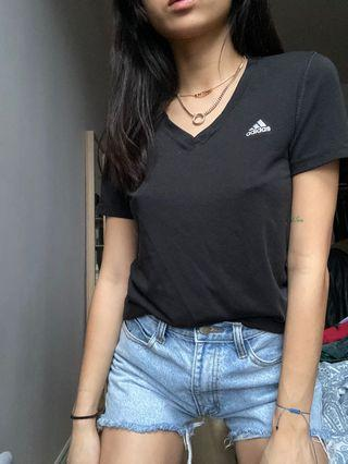 ADIDAS black climate tshirt