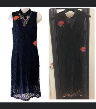 Black Lace dress size 12 XL