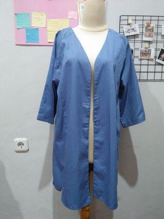 Outer kimono blue #awal2020