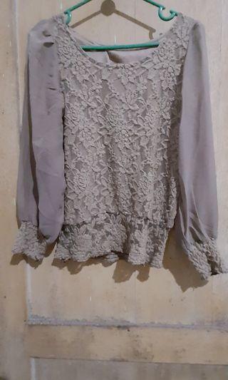 Kaos renda brukat thaildan bangkok