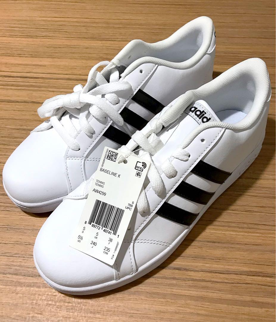 ADIDAS Baseline K Sneakers, Women's