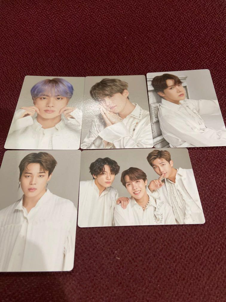 BTS official mini photocard speak yourself the final tour