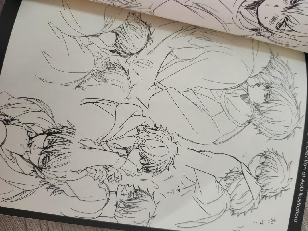 Collection of Ace of Diamond Illustration Fanbook by ESplus