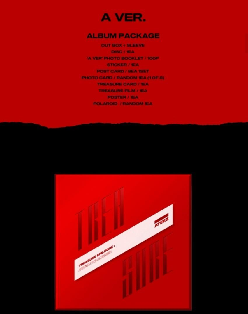 [EXTRA STOCK] ATEEZ TREASURE EPILOGUE:Action To Answer