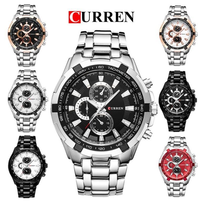 Free Shipping CURREN 8023 Men's Waterproof Luxury Business Style Watch SWTH-136