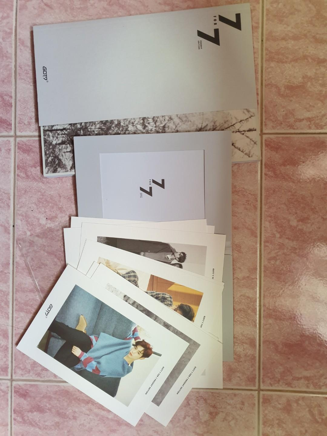 GOT7 EOY Official  ALBUM + preorder benefit (lookbook)