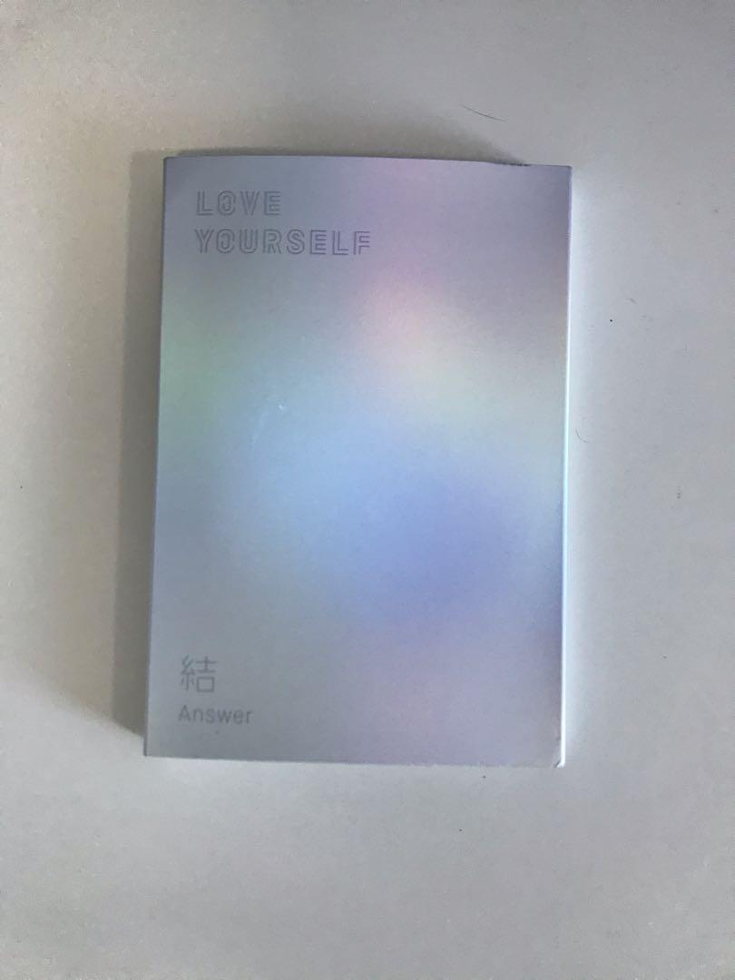 Love Yourself : Answer BTS Kpop Album  (Version S)