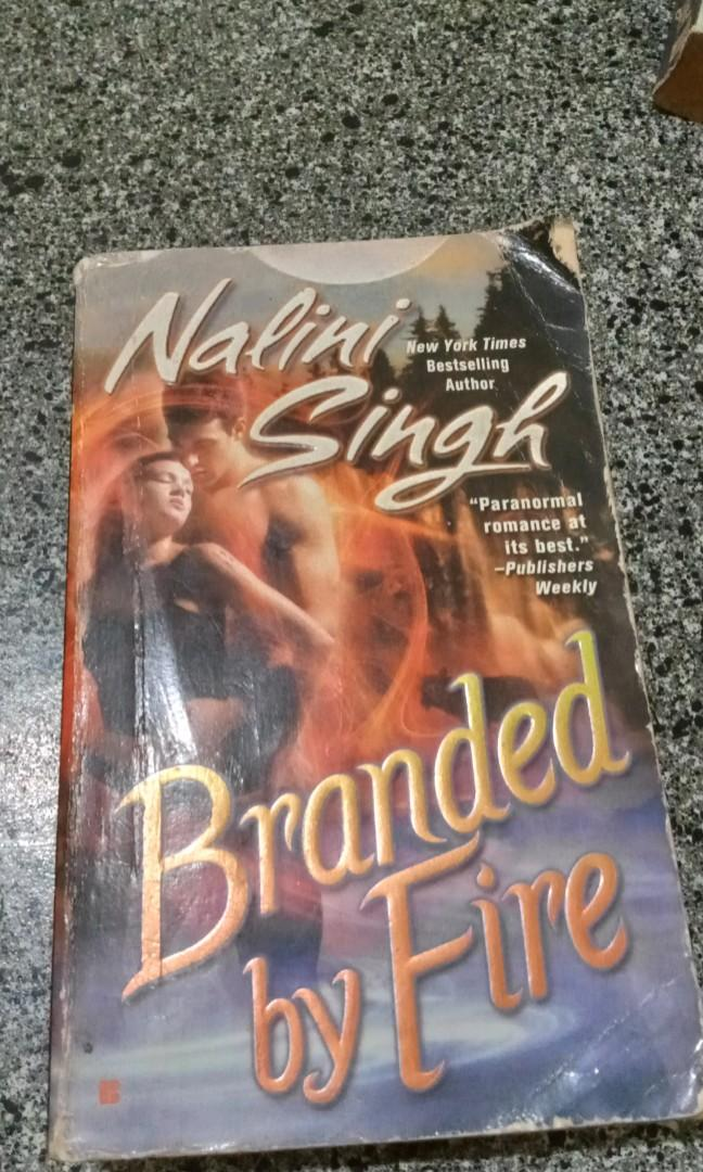Branded by Fire, Caressed by Ice, Hostage to Pleasure, Mine to Possess by Nalini Singh