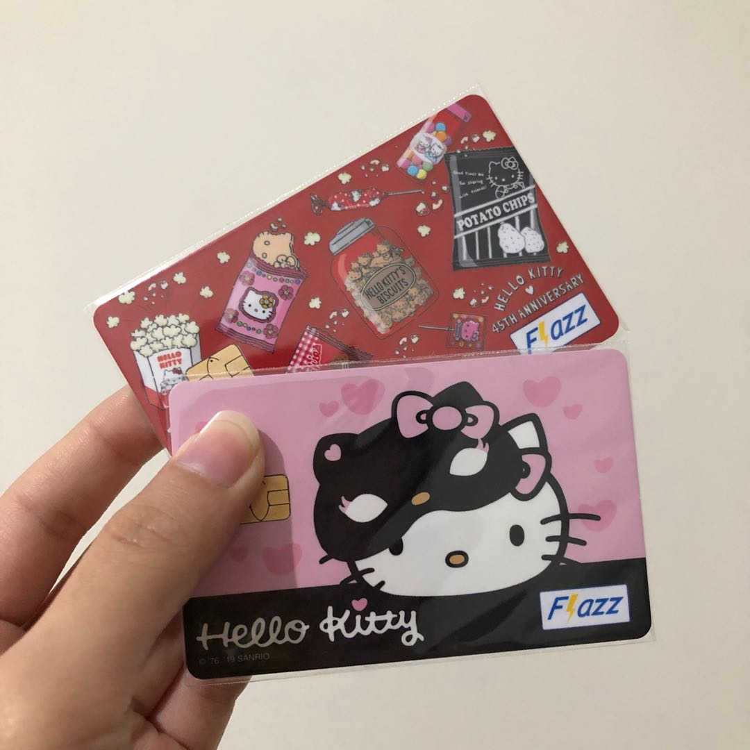 Original NEW Flazz Card BCA Limitef Edition Hello Kitty ...