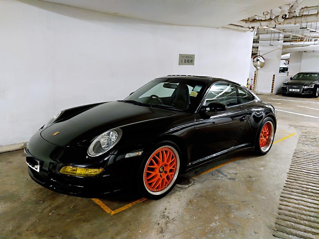 Porsche 911 3.8 Carrera 4S Coupe (A)