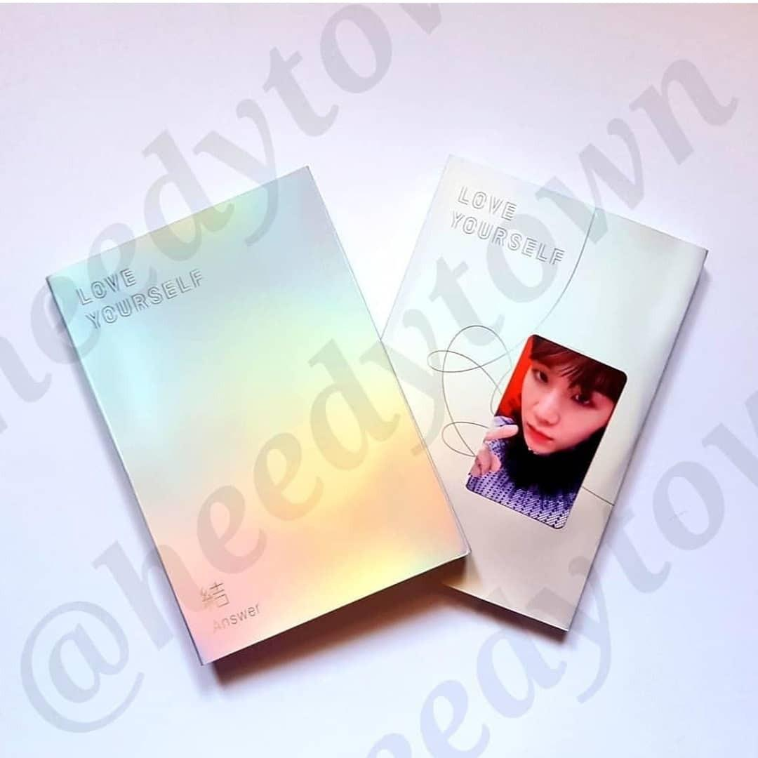 [READY STOCK] BTS - LOVE YOURSELF: ANSWER (S Version) Full Set With SUGA PC