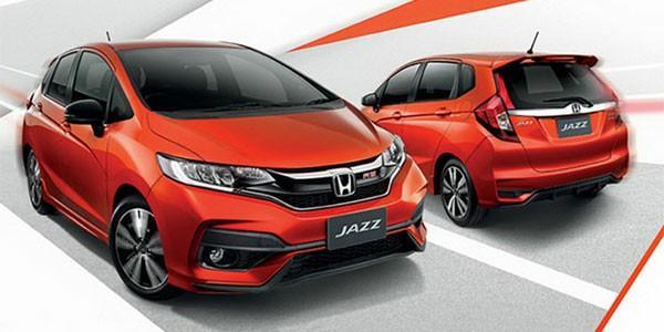 Ready Stock Honda Jazz RS CVT 2019 Warna Putih,Abu-Abu, & Merah. Harga Spesial