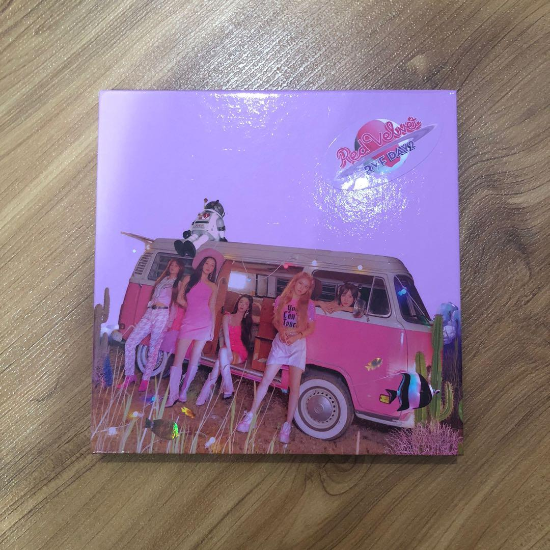 Red Velvet The Reve Festival Day 2 TRF Guide ver Album